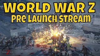 World War Z Live Now - Come check it out before launch tomorrow