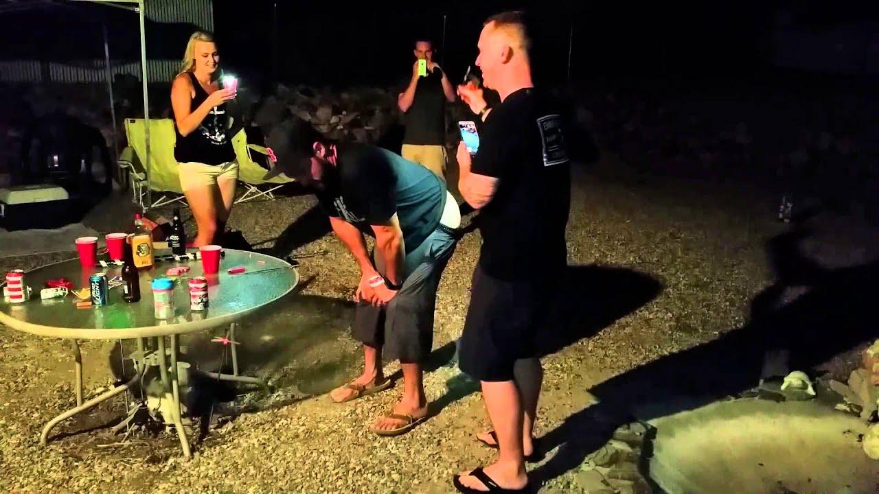 bottle rocket from butt