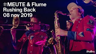 YouTube動画:MEUTE ft. Flume on saxophone - Rushing Back (Flume rework) (live at the Studio Brussel Showcase)