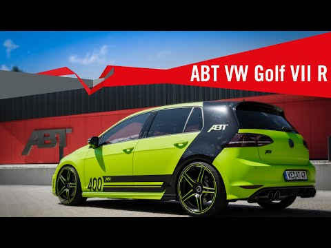 The new Volkswagen Golf VII R from ABT Sportsline