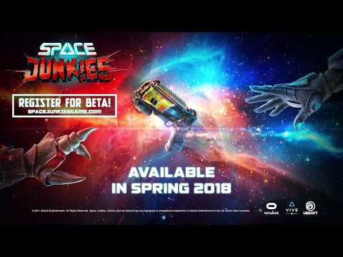Space junkies - official trailer - vr arcade shooter | trailer | ubisoft [na]
