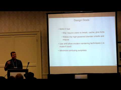 (fourth RacketCon): Neil Toronto — Purely Functional 3D in Typed Racket