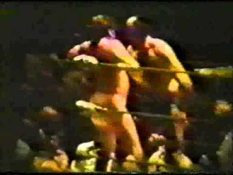 1970s Lou Thesz vs Don Kent Memphis Wrestling