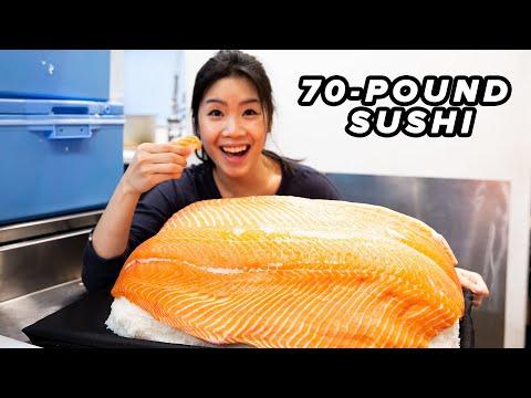 I Made The World's Biggest Sushi