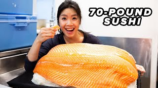 I Made The World's Largest Sushi