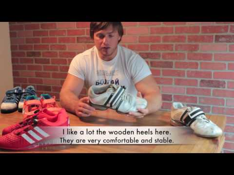 Dmitry Lapikov. Weightlifting shoes review: '08 Adidas ...