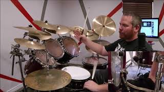 """How to Play """"Zombie"""" by Bad Wolves on Drums - The Cranberries Cover in Honor of Dolores O'Riordan"""
