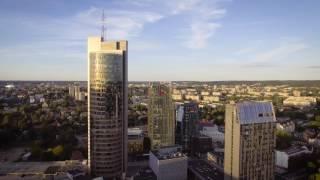 Lithuania, Vilnius City Drone Montage 'The Flight'