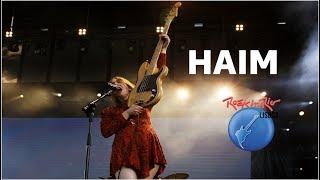 HAIM - The Wire - Rock In Rio Lisboa 2018