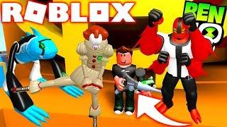 ROBLOX ! BEN 10 NOVA ARMA DO OMNITRIX E NOVOS ALIENS - BEN 10 ARRIVAL OF ALIENS