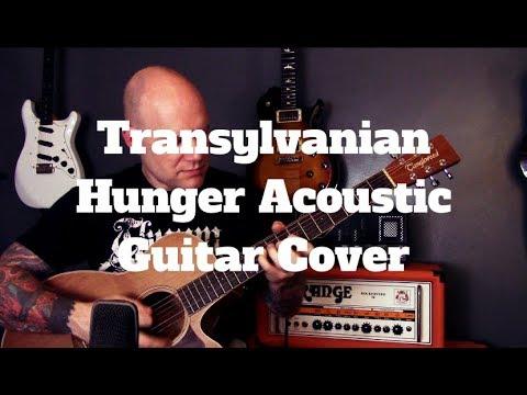 Darkthrone  Transylvanian Hunger Acoustic Guitar