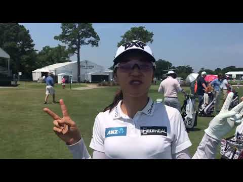 Megan Khang LPGA With Lydia Ko At The Women's US Open 2019