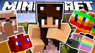 THE FUNNIEST CATS IN MINECRAFT | Derp Cats Mod