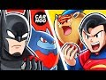 What If Batman & Superman Were Pokemon Trainers 【 DC Superheroes Parody 】