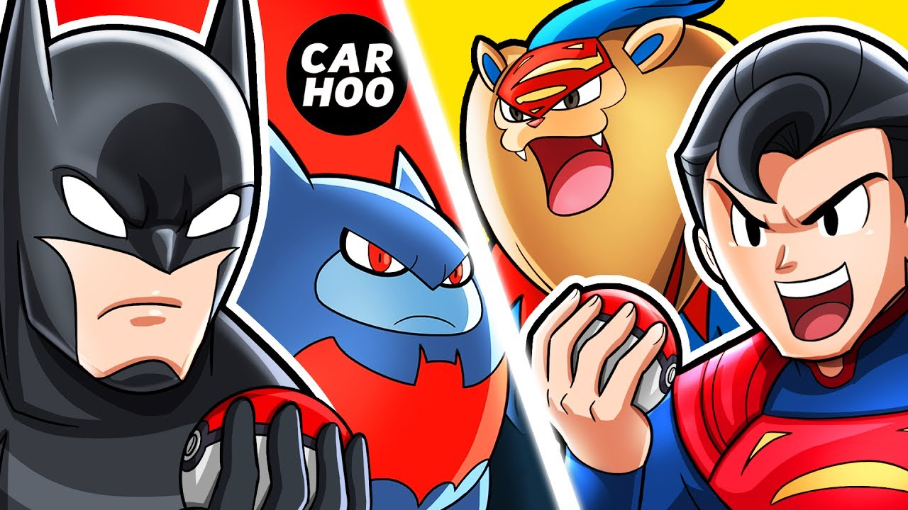 6ddbade3 What If Batman & Superman Were Pokemon Trainers 【 DC Superheroes Parody 】