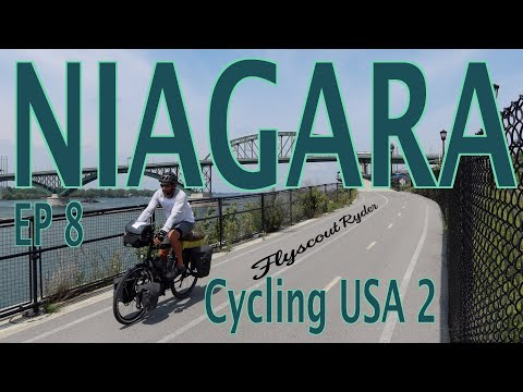 NIAGARA  - Cycling USA 2 (Ep8) - Bicycle Touring Documentary - Niagara Falls S.P. to Springville, NY thumbnail