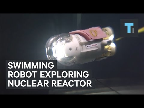 This swimming robot is exploring a failed nuclear reactor in Fukushima