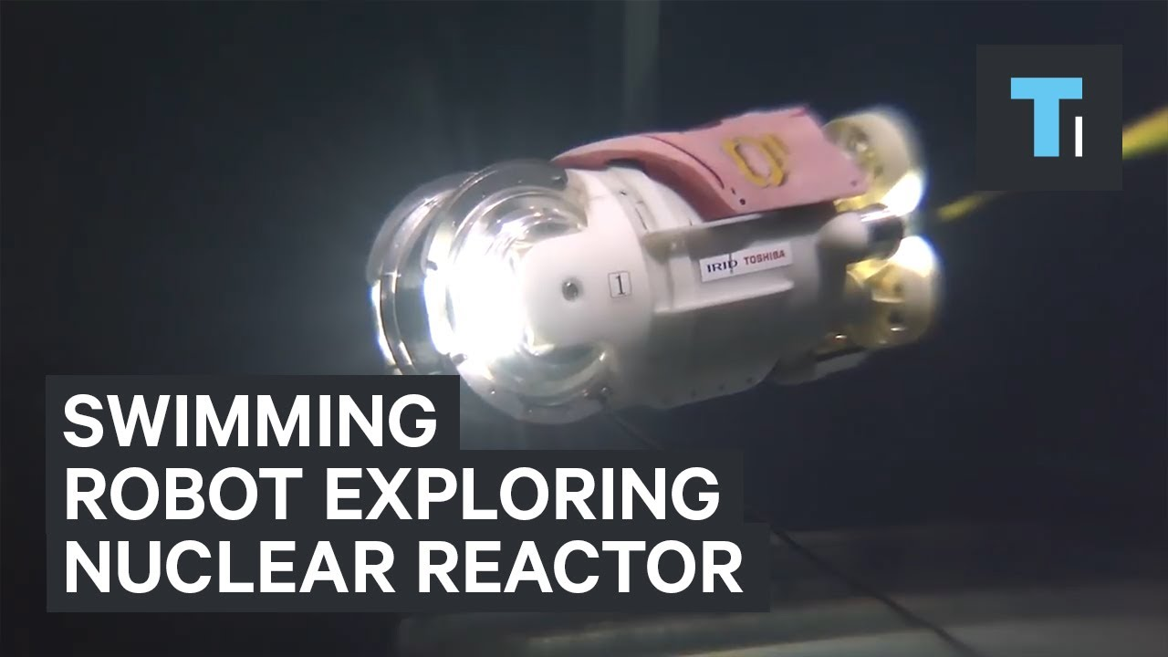 Swimming Robot Is Exploring A Failed Nuclear Reactor In Fukushima