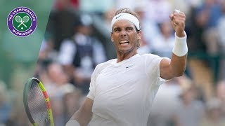 Rafael Nadal | Top 10 points of Wimbledon 2019