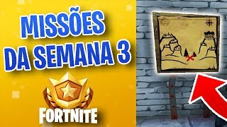 COMPLETING ALL BATTLE PASS MISSIONS-FORTNITE - VINOK4 - SEMAINE 3