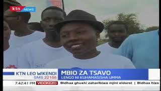 TSAVO RUN: Mbio za Tsavo zimefanyika katika mbuga ya wanyama