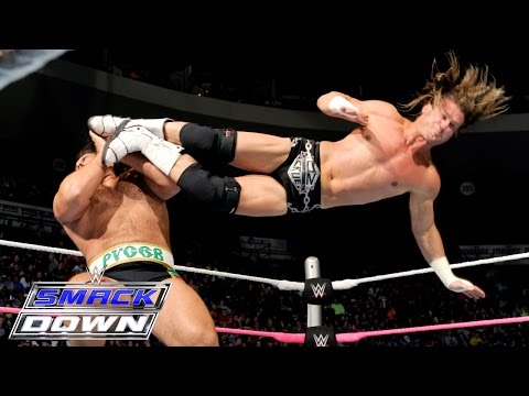 Dolph Ziggler Vs. Rusev – Summer Rae As Special Guest Referee: SmackDown, Oct. 15, 2015