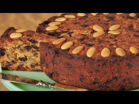 Fruit Cake Recipe Demonstration - Joyofbaking.com
