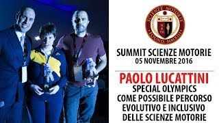 Estratto Summit: Special Olympics - Paolo Lucattini