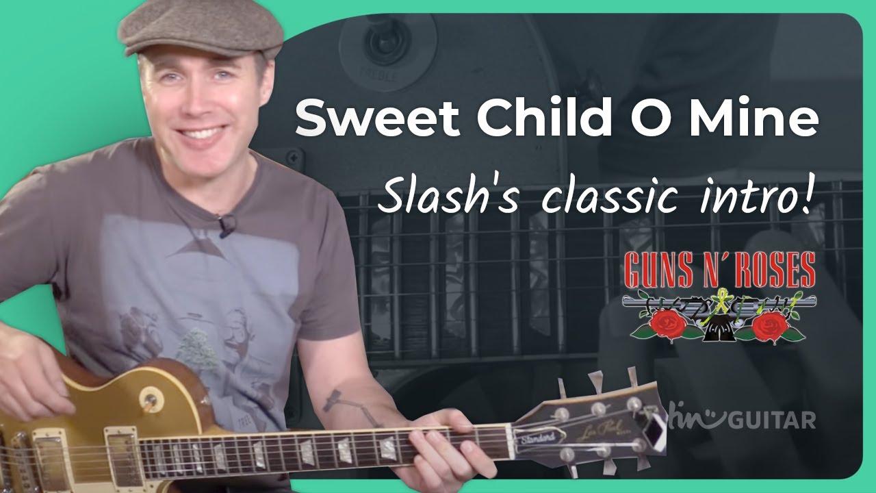 Sweet Child O Mine [SOLO 1] - Guns 'N' Roses | JustinGuitar com