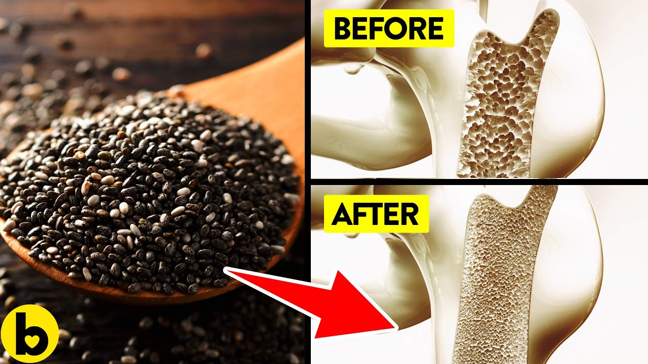 Eat Chia Seeds everyday for a month see what happens to your Body