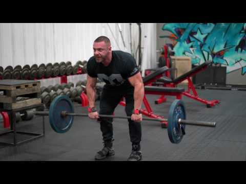 How to Perform Bent Over Barbell Row