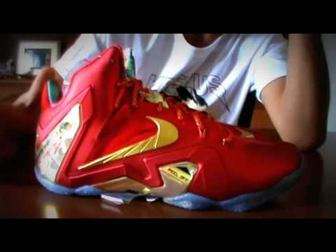 the best attitude 05185 e9bac First Look Nike LeBron 11 Elite SE  University Red  Unboxing Champ Pack -  YouTube