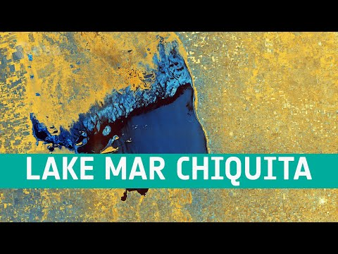 Earth from Space: Lake Mar Chiquita, Argentina