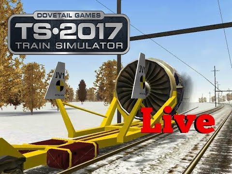 Train Simulator 2017 - The Jet Engine!!