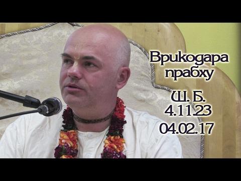 Шримад Бхагаватам 4.11.23 - Врикодара прабху