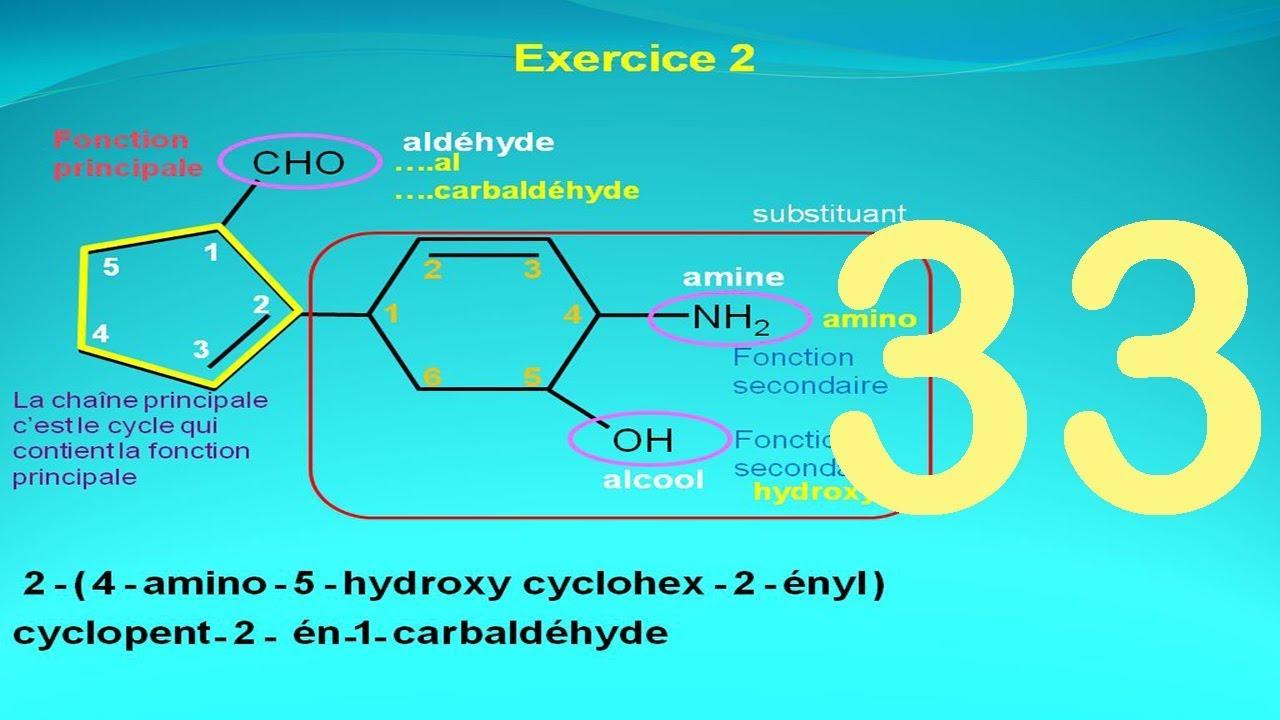 Solution De L Exercice 2 Nomenclature En Chimie Organique Youtube
