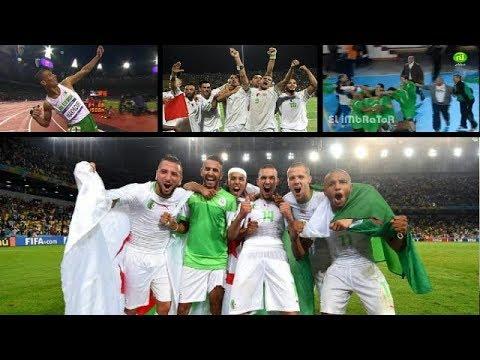 افضل 5 لحظات في  تاريخ  الرياضة  الجزائرية --- لا تنسى