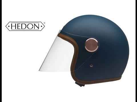 """Open Face Helmet HEDON """"Epcurist Teal"""" - 24Helmets.de"""
