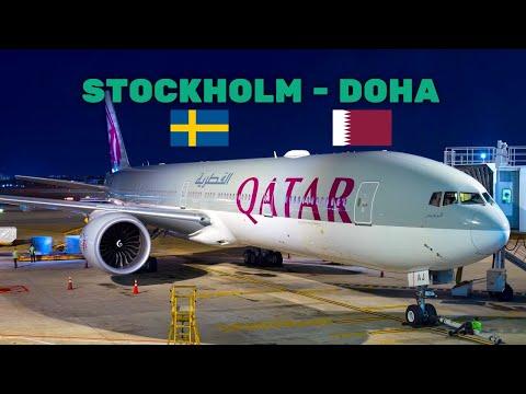 QATAR AIRWAYS [Economy] Boeing 777-300ER | 🇸🇪Stockholm - Doha 🇶🇦 [FULL REVIEW]