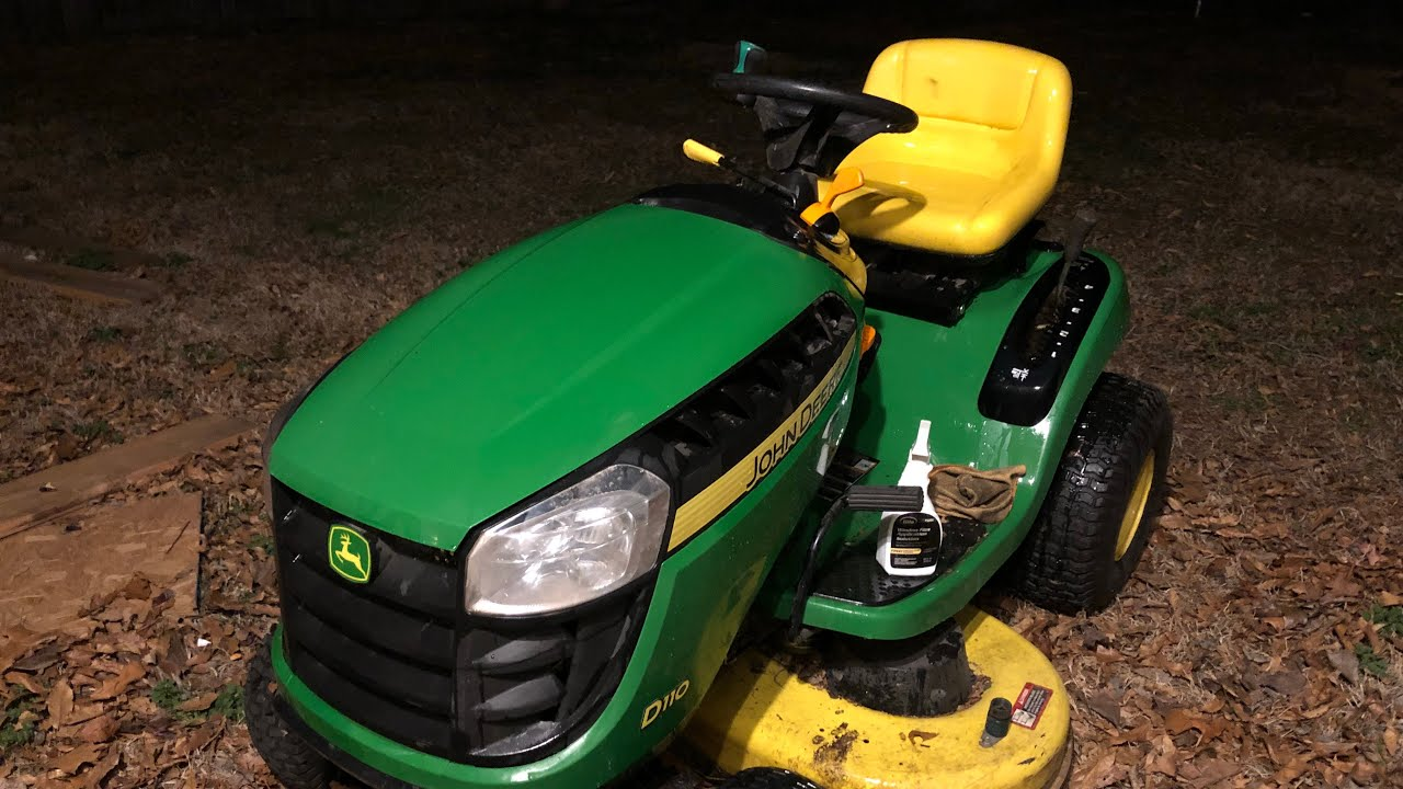 Charge The Battery On A Riding Mower Or Lawn Tractor How To