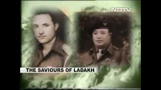 Saviours of Ladakh Major Khushal chand and Major Prithi Chand NDTV