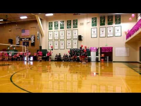 American Prep vs Rowland Hall 2016 Volley Season - Tribute to those fighting Cancer