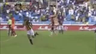 فيديو.. كهربا يسجل هدفا ويقود اتحاد جدة للفوز على «الرائد» 3-2