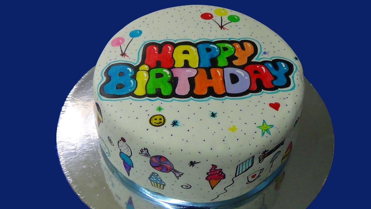 Happy birthday cake youtube - Happy birthday cake picture ...