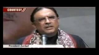 Shoe Attack on  President Asif  Ali Zardari....Khrian Khrian 07/08/10 by Rashid Murad