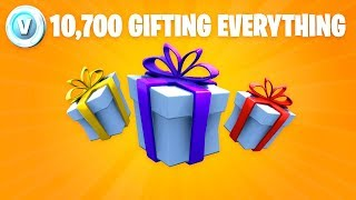 FORTNITE GIFTING TO SUBSCRIBERS!!!