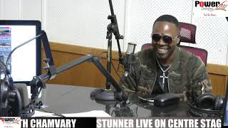 Stunner live on CentreStage with Chamvary