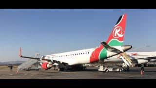 Kenya Airways International Business Class Inside Africa