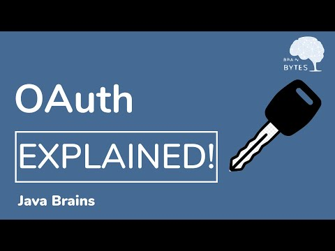 What is OAuth really all about - OAuth tutorial - Java Brains thumbnail