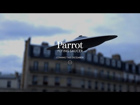 Parrot Flying Saucer Drone (April Fool's)